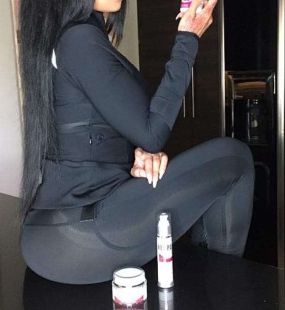 top blac chyna tights