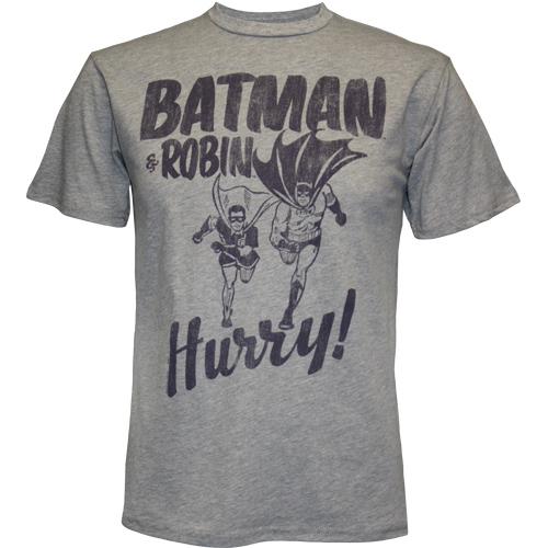Batman & robin hurry t
