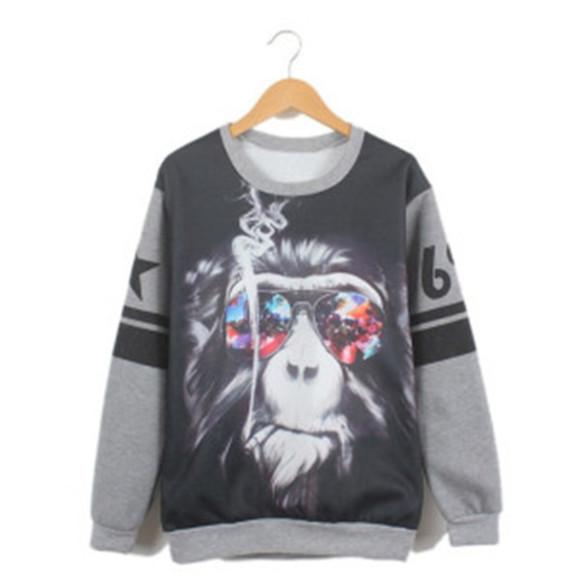 funny wilargo.com sweater gorilla