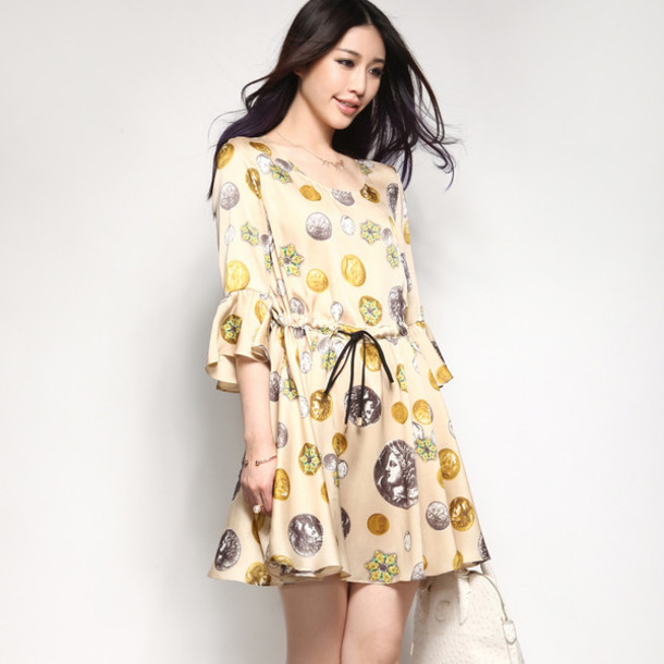 dress women lady fashion elegant spring summer