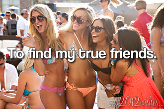 sunglasses sparkle summer outfits peach swimwear orange bikini triangle pattern friends smile