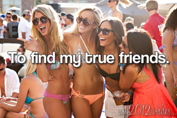 friends swimwear orange bikini sunglasses summer outfits peach sparkle triangle pattern smile