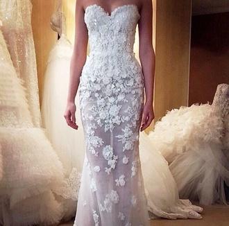 white white dress wedding clothes wedding dress