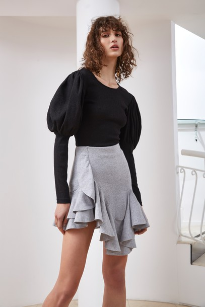 C/MEO COLLECTIVE skirt knit