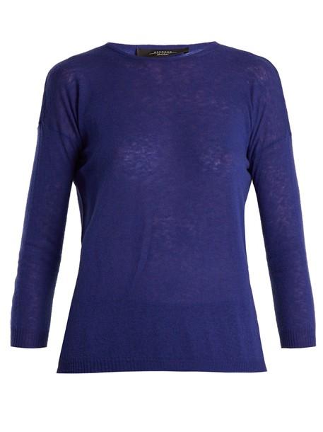 WEEKEND MAX MARA sweater blue