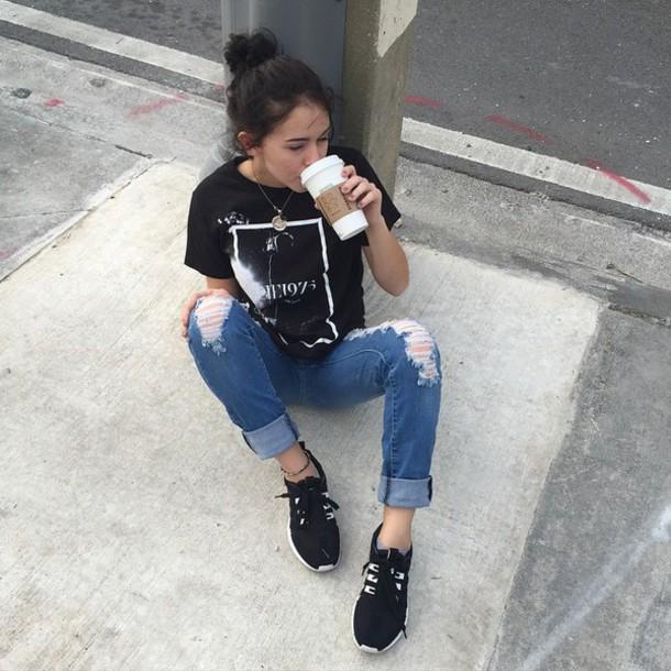 Shoes Swag Instagram Fashion Grunge Style Adidas Adidas Shoes Wheretoget