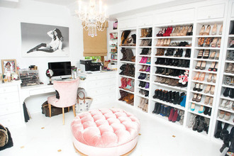 dress pink white home decor chair