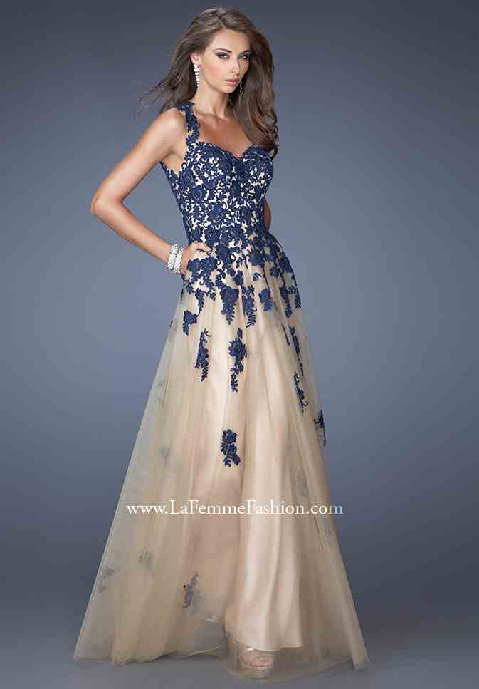 La Femme Homecoming Dresses 19922 at Peaches Boutique