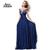 Aliexpress.com : Buy ANN DEER 2016 Hot Sale A Line Chiffon Appliques Beading Long Evening Dress Gown Royal Blue Formal Dresses Robe De Soiree D111 from Reliable dress pakistan suppliers on Ann Deer