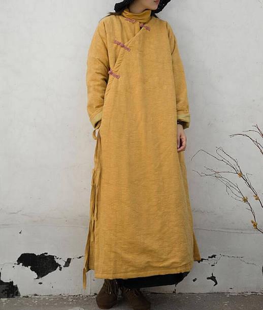 coat padded long coat