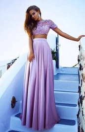 dress,lavender prom dresses