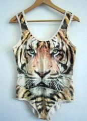 tank top,tiger,cats,bodysuit,t-shirt,shirt,tiger shirt,animal print,swimwear,one piece,onesie,posh'd boutique,top,chic,lion,muscule tank,swag,hipster,streetstyle,urban,hippie