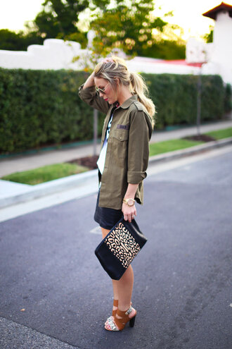 happily grey jacket shirt skirt shoes bag sunglasses jewels streetwear nordstrom asos