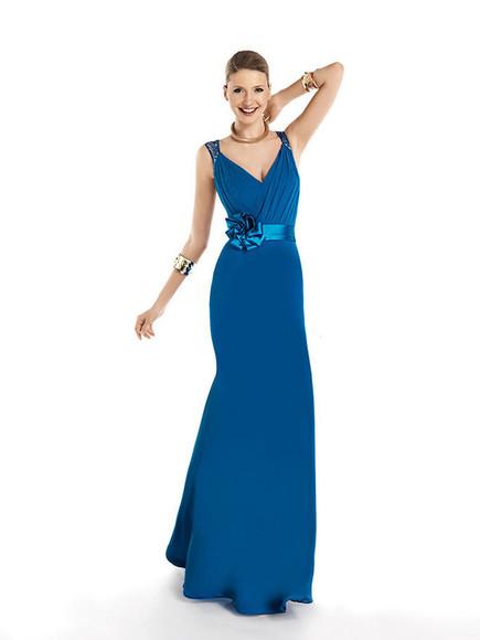 blue dress cocktail dresses prom dress Evening Gowns