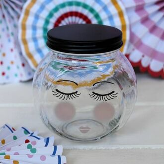 home accessory mason jar spectrum brushes cute makeup organizer storage organizer beauty organizer makeup container glass jar