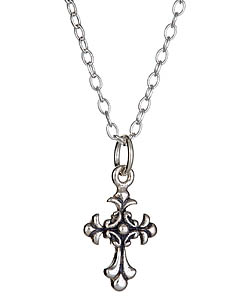 Ceek Cross My Heart Necklace - Max and Chloe