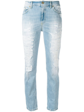 jeans boyfriend jeans women spandex boyfriend cotton blue
