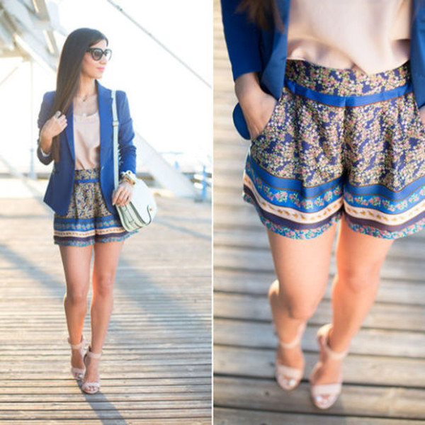 shorts jacket skirt