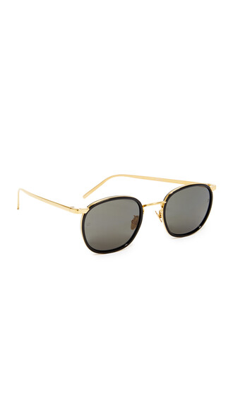 sunglasses round sunglasses black grey