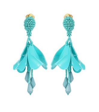 mini earrings turquoise jewels