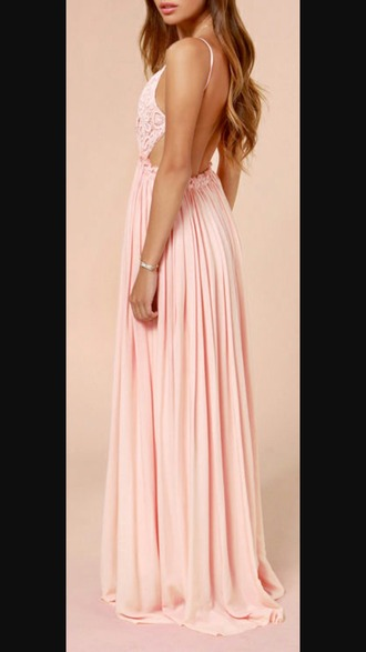 dress maxi dress backless dress