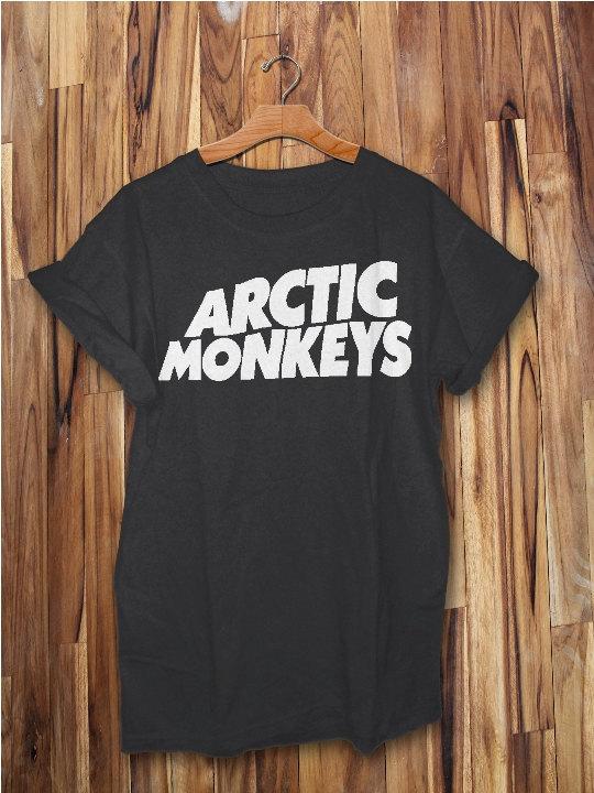 arctic monkeys shirt women and men tshirt clothing size s,m,l,xl,xxl black white gray color