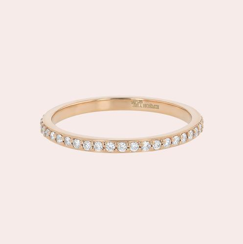 The Diamond Eternity Band Ring