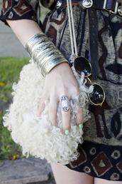 cuff,jean greige,silver,jewels