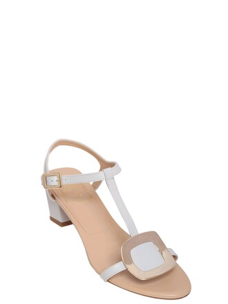 sandals leather sandals leather light grey shoes