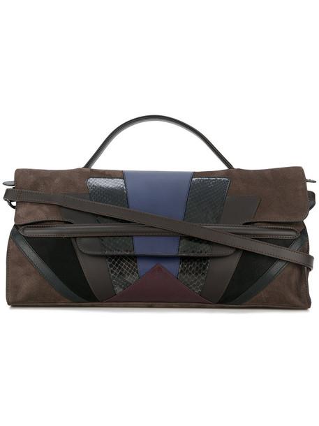 Zanellato women leather suede brown bag