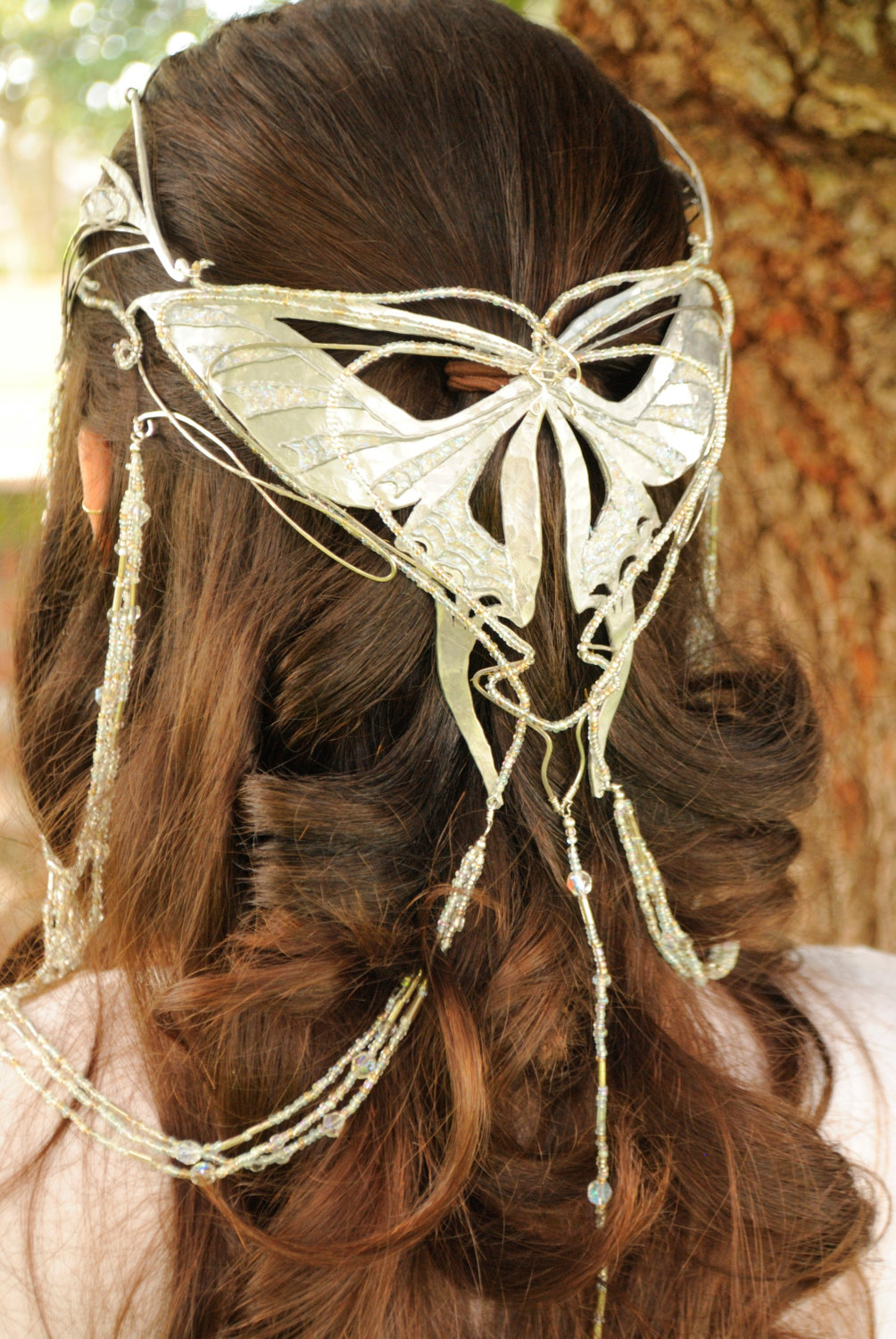 Lord of the rings arwen coronation butterfly crown replica custom order