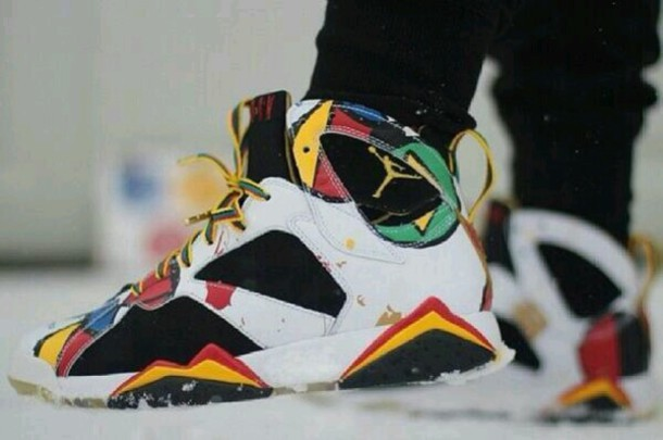 colorful jordans shoes