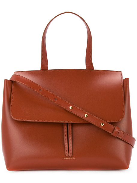 Mansur Gavriel women lady leather brown bag