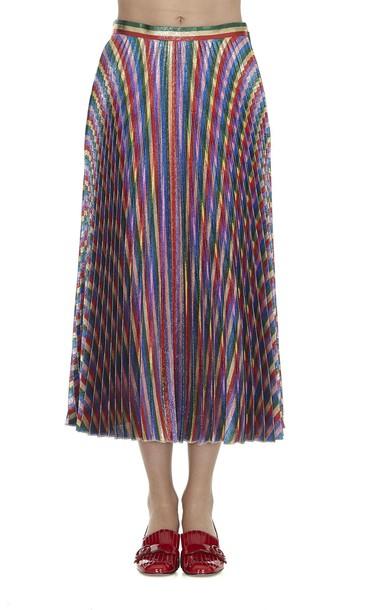 gucci skirt rainbow