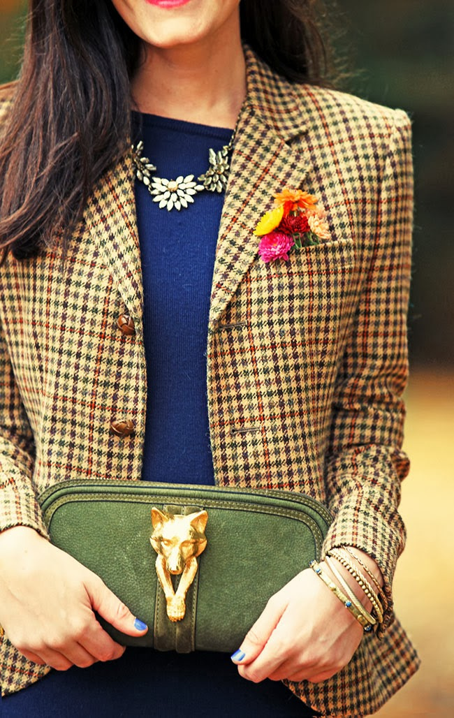 Classy Girls Wear Pearls: The Fox and the Houndstooth
