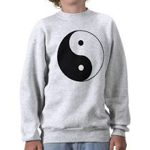 Yin and Yang Pullover Sweatshirt