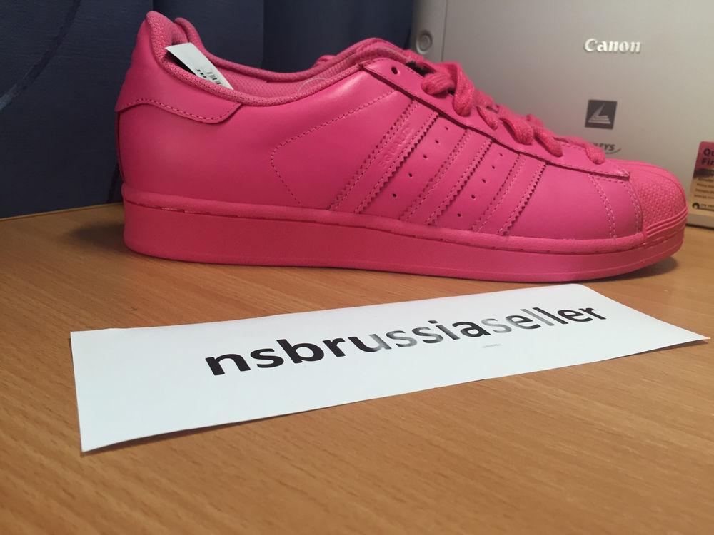 1bfa2a80bbf0 Adidas Originals Superstar supercolor Pharrell Williams s41839 Pink
