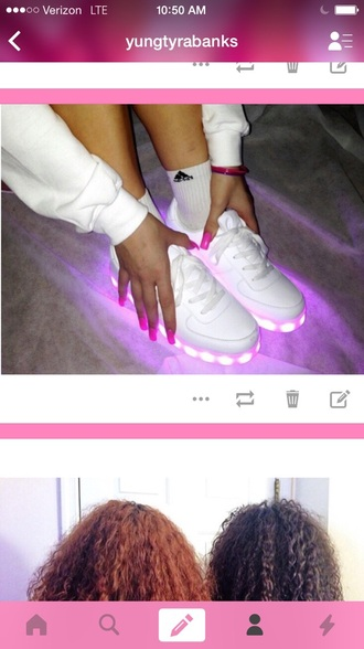 shoes pink shoes style fashion lights up glitter dress gliter skirt sportswear sparkles sparkle