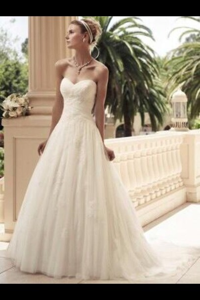 Dress strapless wedding dresses lace wedding dress vintage like follow junglespirit Choice Image