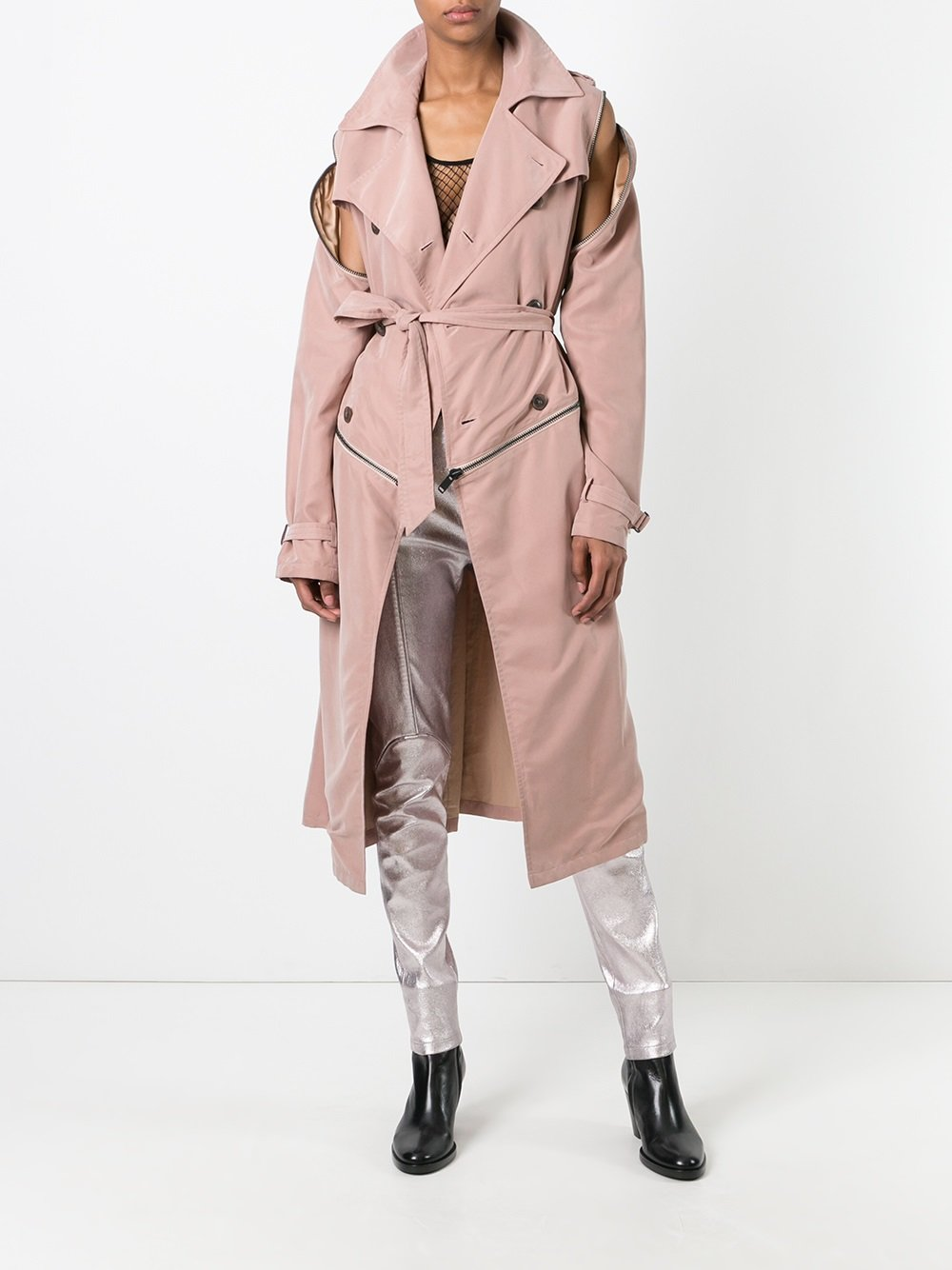 A.F.Vandevorst 'Moment' Trenchcoat - Farfetch
