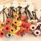 Women girls boho daisy flower floral hair band wedding festival headband garland