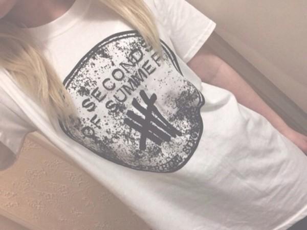 shirt band t-shirt 5 seconds of summer 5 seconds of summer band derping since 2011