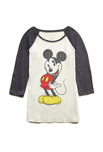 t-shirt baseball tee mickey mouse 2014 trendy cool