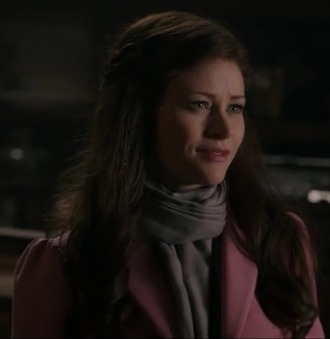 coat belle emilie de ravin once upon a time show pink