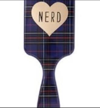 hair accessory paddle brush hair brush hairstyles plaid hair bun hair extensions grunge
