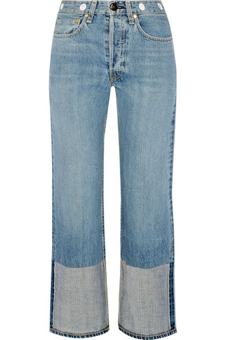 jeans cropped jeans