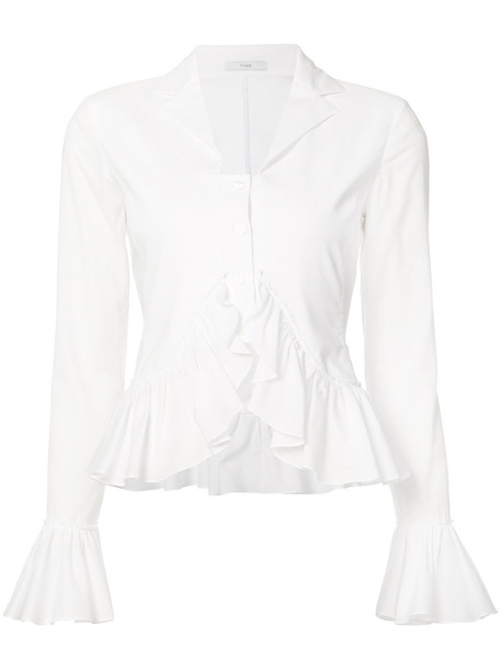 Tome top knitted top women white cotton
