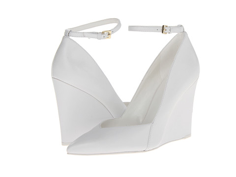 Nine West Eviee White Leather - Zappos.com Free Shipping BOTH Ways
