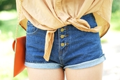 shorts,denim,high waisted,cuffed shorts