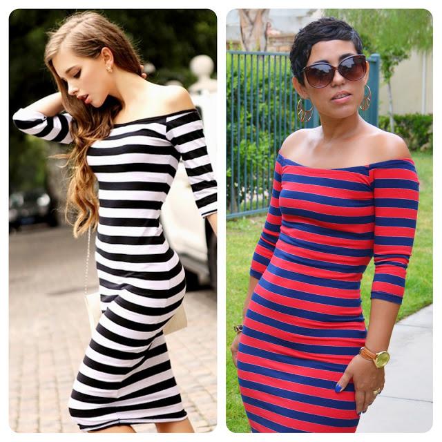 Mimi G Style: #DIY Striped Dress Using S1613 Modified ...